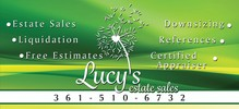 Lucy's Estate Sales 361-510-6732